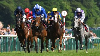 Battaash wins the Temple Stakes