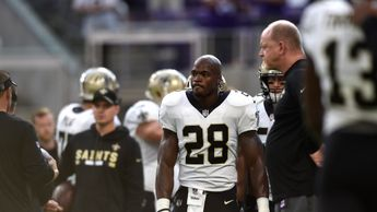 Adrian Peterson has made little impact with the Saints