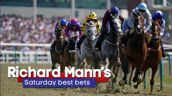 Richard Mann has three selections on Saturday