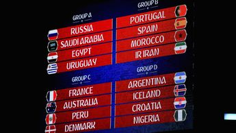 World Cup 2018 group stage draw