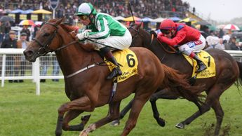Mr Lupton beats Take Cover at Newbury