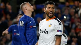Ross Barkley: Chelsea midfielder reacts after missing a penalty against Valencia in the Champions League