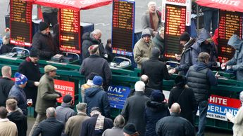 On course bookies at Kempton