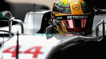 Lewis Hamilton: Second in FP3