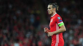 Gareth Bale in action against Azerbaijan