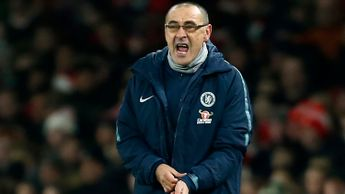 Maurizio Sarri: Unhappy with his Chelsea players after defeat at Arsenal