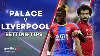 Our best bets for Crystal Palace's clash with Liverpool