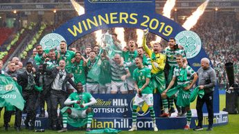 Celtic lift the Scottish Cup to complete the Treble Treble