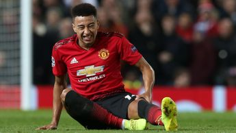 Jesse Lingard: The Manchester United midfielder picked up an injury against PSG