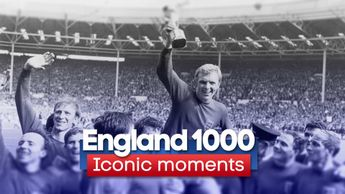 To mark England's 1000th international we run down the top 10 iconic moments of the Three Lions