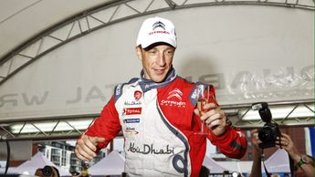 Kris Meeke claimed victory in Spain