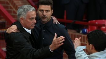 Jose Mourinho and Mauricio Pochettino, pictured together in August 2018