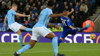 Kevin De Bruyne scores for Manchester City