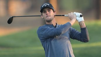 Thomas Pieters in action