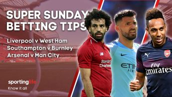 It promises to be an entertaining first Super Sunday of the Premier League season