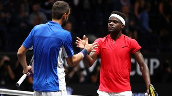 Marin Cilic and Frances Tiafoe