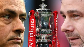 Manchester United meet Tottenham at Wembley in the FA Cup semi-final