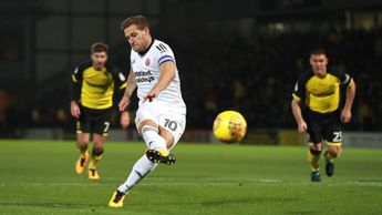 Billy Sharp scores from the penalty spot