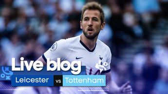 Follow Leicester at home to Tottenham in the Premier League
