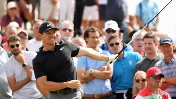 Rory McIlroy shot an opening 69 at Carnoustie