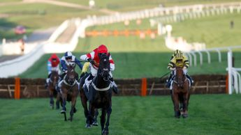 Slate House seen winning at Cheltenham last month