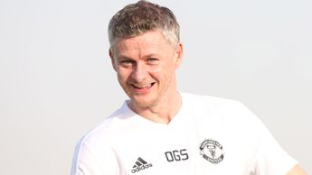 All smiles in Dubai for Ole Gunnar Solskjaer