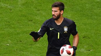 Liverpool are chasing Roma goalkeeper Alisson Becker