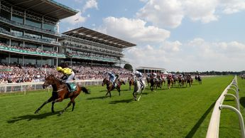 Euchen Glen winning the John Smith's Cup at York