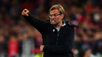 Jurgen Klopp reacts