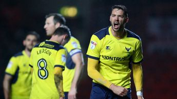 Oxford United celebrate