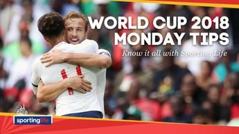 Check out our best bets for Monday's World Cup games as England begin their campaign