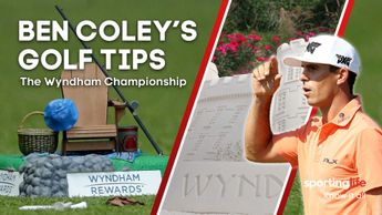 Who is Ben Coley backing for the Wydham Championship?
