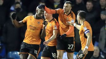 Willy Boly and Wolves celebrate