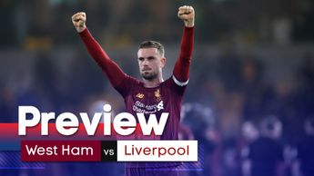 We look ahead to the Premier League game between West Ham and Liverpool at the London Stadium