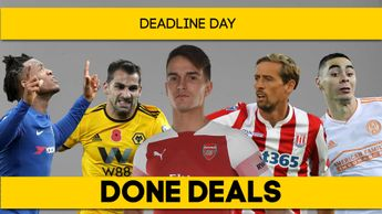 Denis Suarez and Peter Crouch completed moves on deadline day