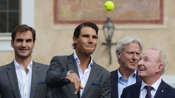 Rafael Nadal (c): Will only play doubles on Friday