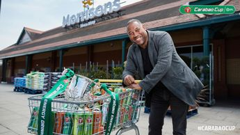 John Barnes will be drawing the balls at Morrisons