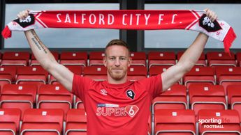 Adam Rooney has joined Salford City