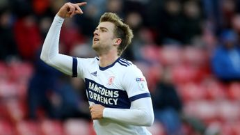 Patrick Bamford celebrates after scoring for Middlesbrough
