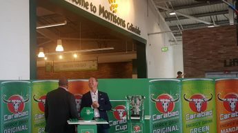 John Barnes and Ray Parlour made the draw at Morrisons