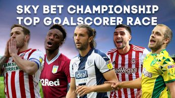 The contenders to finish at the top goalscorer in the Sky Bet Championship