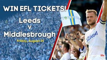 Will you win a pair of home tickets for Leeds vs Middlesbrough?