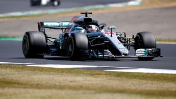 Lewis Hamilton scorches around Silverstone