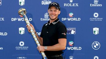 Danny Willett wins the DP World Tour Championship in Dubai