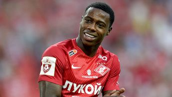 Spartak Moscow forward Quincy Promes