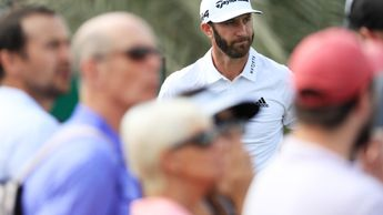 Dustin Johnson stands out from the crowd this week