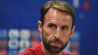 Gareth Southgate: The England manager dislocated his shoulder in Russia