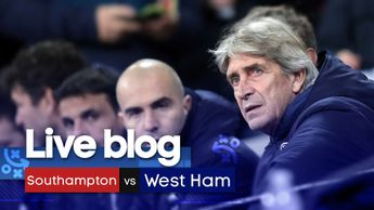 Live coverage of Southampton v West Ham in the Premier League