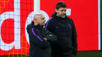 Daniel Levy (left) and Mauricio Pochettino