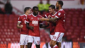 Nottingham Forest celebrate